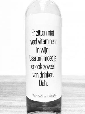Vitaminen Wijn