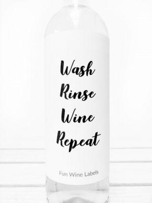 Wash Rinse