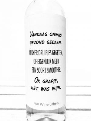 Wijn Smoothie