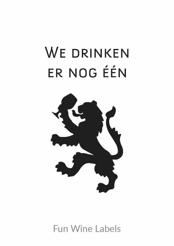design drinken leeuw